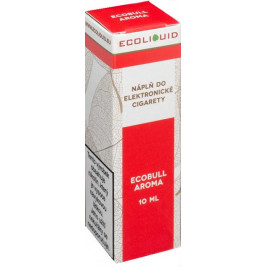 Liquid Ecoliquid Ecobull 10ml - 0mg (Energetický nápoj)
