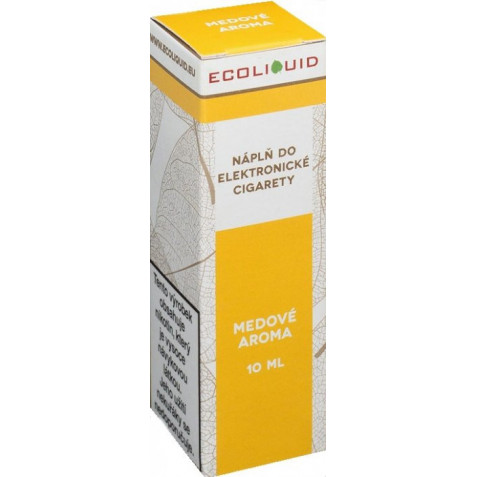 Liquid Ecoliquid Honey 10ml - 0mg (Med)