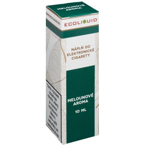 Liquid Ecoliquid Watermelon 10ml - 0mg (Vodní meloun)