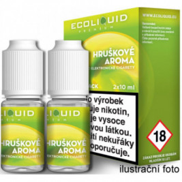 Liquid Ecoliquid Premium 2Pack Pear 2x10ml - 0mg (Hruška)