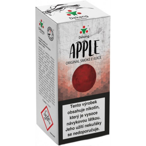 Liquid Dekang Apple 10ml - 6mg (Jablko)