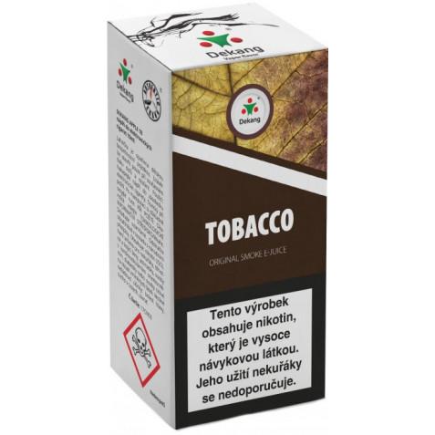 Liquid Dekang Tobacco 10ml - 18mg (tabák)
