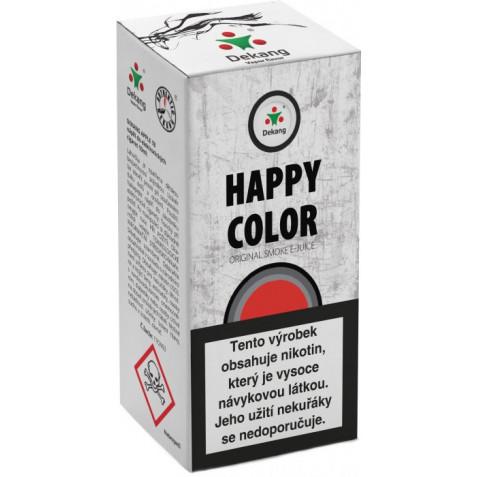 Liquid Dekang Happy color 10ml - 6mg