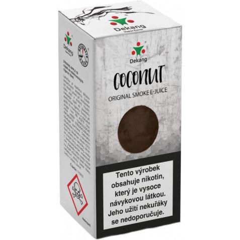 Liquid Dekang Coconut 10ml - 11mg (Kokos)