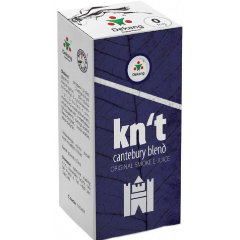 Liquid Dekang Kn´t - cantebury blend 10ml - 0mg