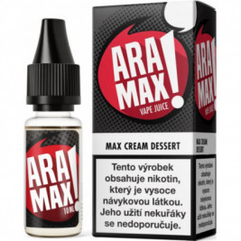 Liquid ARAMAX Max Cream Dessert 10ml-3mg