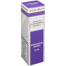 Liquid Ecoliquid Blueberry 10ml - 3mg (Borůvka)