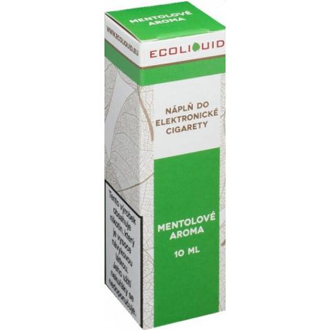 Liquid Ecoliquid Menthol 10ml - 3mg