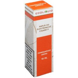 Liquid Ecoliquid Orange 10ml - 12mg (Pomeranč)