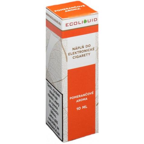 Liquid Ecoliquid Orange 10ml - 12mg (Pomeranč)