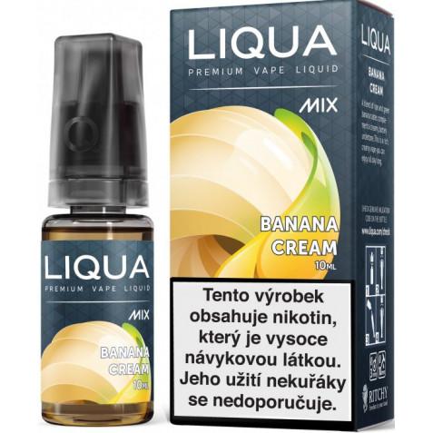 Liquid LIQUA CZ MIX Banana Cream 10ml-3mg