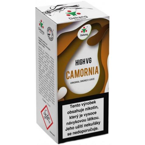 Liquid Dekang High VG Camornia 10ml - 6mg (Tabák s ořechy)