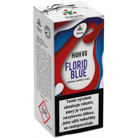 Liquid Dekang High VG Florid Blue 10ml - 6mg (Ledové borůvky)