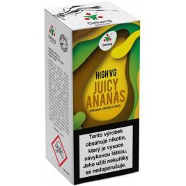 Liquid Dekang High VG Juicy Ananas 10ml - 3mg (Šťavnatý ananas)