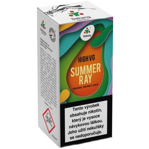 Liquid Dekang High VG Summer Ray 10ml - 1,5mg (Ovocná směs)