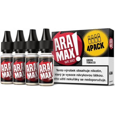 Liquid ARAMAX 4Pack Green Tobacco 4x10ml-3mg