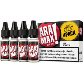Liquid ARAMAX 4Pack USA Tobacco 4x10ml-3mg