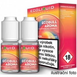 Liquid Ecoliquid Premium 2Pack Ecobull 2x10ml - 3mg (Energetický nápoj)