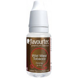 Příchuť Flavourtec Wild West Tobacco 10ml (Klasický Americký tabák)
