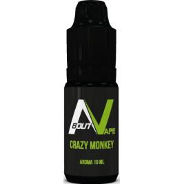 Příchuť About Vape (Bozz) Pure 10ml Crazy Monkey (Jablka, vanilka a tajné koření)