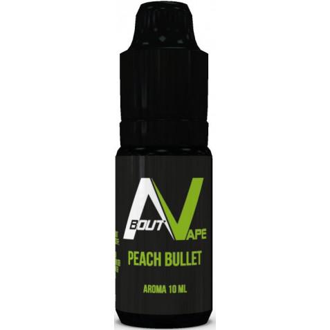 Příchuť About Vape (Bozz) Pure 10ml Peach Bullet (Šťavnatá broskev)