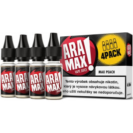 Liquid ARAMAX 4Pack Max Peach 4x10ml-12mg