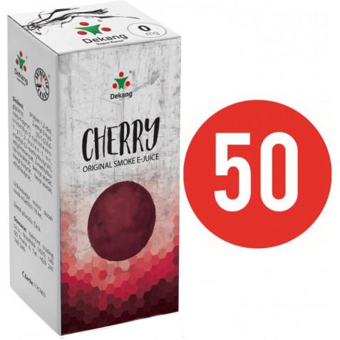Liquid Dekang Fifty Cherry 10ml - 0mg (Třešeň)