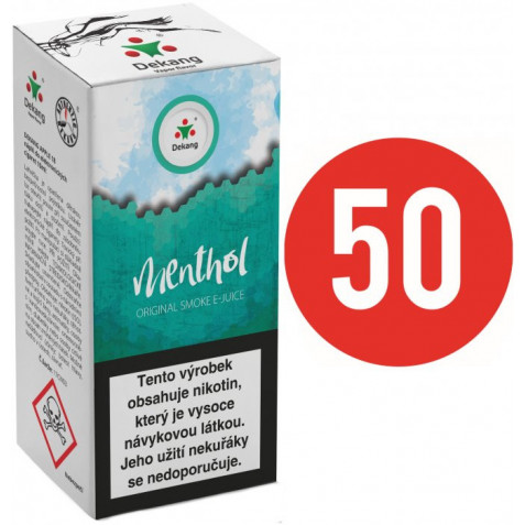 Liquid Dekang Fifty Menthol 10ml - 3mg