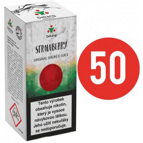 Liquid Dekang Fifty Strawberry 10ml - 16mg (Jahoda)
