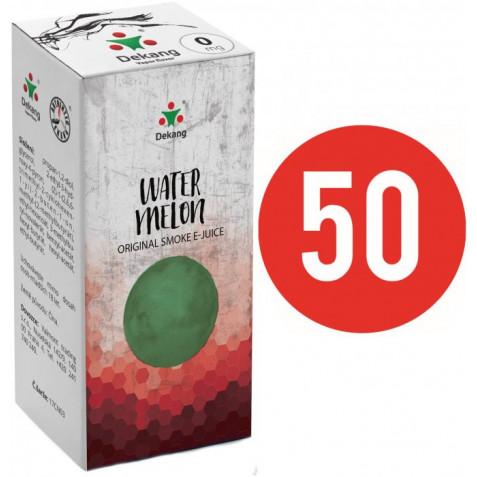 Liquid Dekang Fifty Watermelon 10ml - 0mg (Vodní meloun)