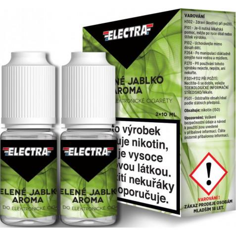 Liquid ELECTRA 2Pack Green apple 2x10ml - 3mg (Zelené jablko)