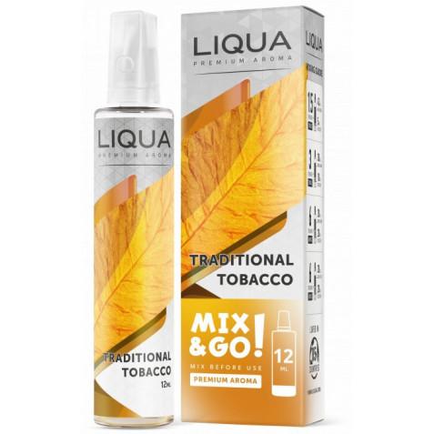 Příchuť Liqua Mix&Go 12ml Traditional Tobacco