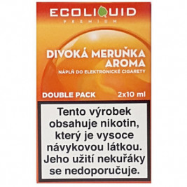 Liquid Ecoliquid Premium 2Pack Wild Apricot 2x10ml - 20mg