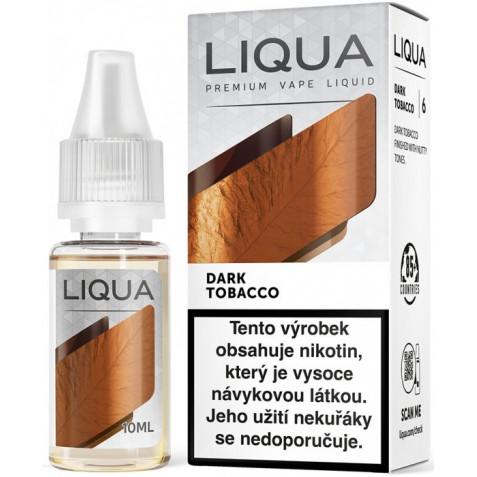 Liquid LIQUA CZ Elements Dark Tobacco 10ml-0mg (Silný tabák)