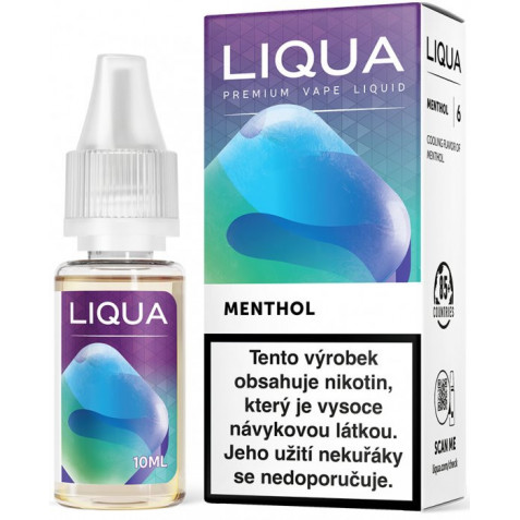 Liquid LIQUA CZ Elements Menthol 10ml-3mg (Mentol)