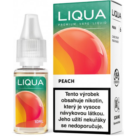 Liquid LIQUA CZ Elements Peach 10ml-6mg (Broskev)